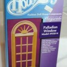 Houseworks Palladian Window NIB, Playscale 1:6 Size Component, NOS/NIB