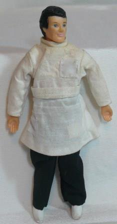 Vinyl Miniature Man, Doctor/Dentist, NOS