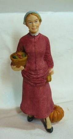 Porcelain Imports' Country Lady, NOS
