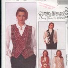 McCall's Sewing Pattern 7255 Creative Vest by Nancy Zeiman Size 14