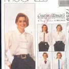 McCall's Sewing Pattern 7259 Five Beautiful Blouses by Nancy Zeiman, Size 16