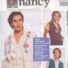 McCall's Sewing Pattern 8699 by Nancy Zieman, Handsome vests,  special details, Size 8 thru 22
