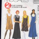 McCall's Sewing Pattern 9028 Jumper in two lengths, knit top, Size 20 22 24
