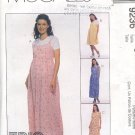 McCall's Sewing  Pattern 9236 Maternity dress/jumper in two lengths, Size 8 10 12