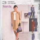 McCall's Sewing Pattern  2400 Ensemble: Unlined Jacket, Top, Pull On Pants and Skirt, Size 16 18 20