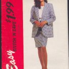 McCall's Sewing Pattern 6360 Suit, Top, Jacket (lined or unlined) and Skirt, Size 10 - 14