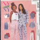 McCall's Sewing Pattern 3432 Pajamas with options Sizes 3 - 10