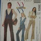McCall's Sewing Pattern 3803 Girl's Lined vest, Blouse and Pants, Size 3 - 10
