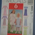 McCall's Sewing Pattern 3923 Dress with Lined Jacket, 6 variations, Size 3 4 5 6