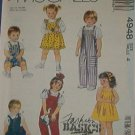 McCall's Sewing Pattern 4948 Overalls, Jumper and Dress, Size 4