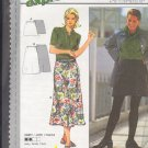 Burda Sewing Pattern 3363 Quick A line Skirt in two lengths, Size 8 - 18