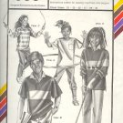 Stretch & Sew Sewing Pattern 958 Child's Hidden Placket Rugby Top, Chest size 21  - 31