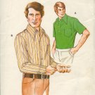 Kwik Sew Sewing Pattern  468 Man's Shirts, two styles, sizes 42 - 46