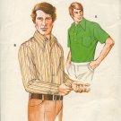 Kwik Sew Sewing Pattern  468 Man's Shirts, two styles, sizes 42 - 46