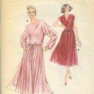 Kwik Sew Sewing Pattern 926 Beautiful Dress full skirt blasoon top, Sizes 14 - 20