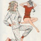 Kwik Sew Sewing Pattern 1328 Pajamas and Shortie, Bust Size 31 - 42