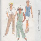 Kwik Sew Sewing Pattern 2241 Vest and Pants, Size 14 - 20
