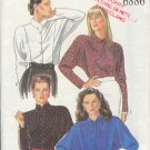 New Look Sewing Pattern 6886, Handsome Blouse with Neckline variations, Sizes 8 - 18