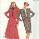 New Look Sewing Pattern 6891 Suit with Channel Jacket, Full and Straight Skirts , Size 8-18