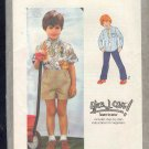 Simplicity Sewing Pattern 9013 Short and Long Sleeved Shirt, Boys Size 5