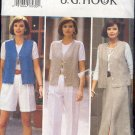 Butterick Sewing Pattern 3369 by J.G.Hook, Wardrobe Vest, Skirt, Pants and Shorts, Sizes 6 - 12