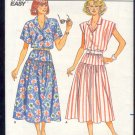 Butterick Sewing Pattern 3814, Blouse and Skirt with variations, Size 8 - 12