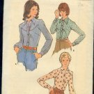 Butterick Sewing Pattern 3839 Classic Shirt for Women, Size 12