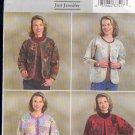 Butterick Sewing Pattern 4056 Patchwork Jacket by Just Jennifer, Sizes 6-14
