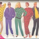 Butterick Sewing Pattern 4118 Sweats, Top, Pants and Shorts, Sizes 16 - 22