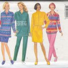 Butterick Sewing Pattern 4156 Pullover top with front zipper, 3 lengths, skirt and  pant, Size 16-22
