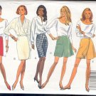 Butterick Sewing Pattern 5287 Five Skirts and Shorts, Sizes 6-12