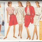Butterick Sewing Pattern 6449 Jacket, shorts, skirt, top and dress, Size 6 8 10