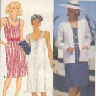 Butterick Sewing Pattern, 6533 Sundress and Box Jacket, Size 14