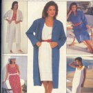 Butterick Sewing Pattern 6631 Coatdress, Dress, Pants, Tank Top and Skirt, Size 8 10 12