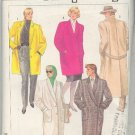 Simplicity Sewing Pattern 7754 Classic Overcoat Double and Single Breasted, Size 6-10