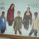 Vogue Sewing Pattern 2615 Five Dressy Jackets, Size 8 10 12