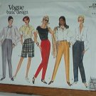 Vogue Sewing Pattern 2946 Shorts and Pants with variations, Size 8 10 12