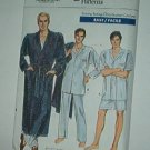 "Vogue Sewing Pattern 7079 Men's Pajamas in two lengths and Belted Robe, Size 30--40"" chest"