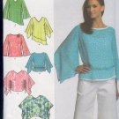 Simplicity Sewing Pattern 4700 Pretty Top with neck and hem variations, Sizes 6 -12