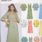 Simpliicty Sewing Pattern 5046 Dress and Jacket with 6 variations. Sizes 8 - 14