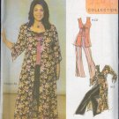 Simplicity Sewing Pattern 5075 Duster,Vest, Camisole and Pants, Sizes 10 - 18