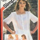 Simplicity Sewing Pattern 5995 Pretty Blouses, Sizes 10