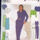 Simplicity Sewing Pattern 7711 Jumpsuit, Dress and Jackets with variations, Size 12 - 16