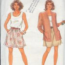 Simplicity Sewing Pattern 7778, Shorts, Tank top and jacket, Sizes 6 - 24