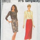 Simplicity Sewing Pattern 9141 Skirt and Top, Sizes 6 - 16