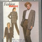 Simplicity Sewing Patttern 9200 Jacket and Patns, Sizes 8-18