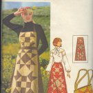 Butterick Sewing Pattern 4434, Apron, Skirt and Purse, Size 12
