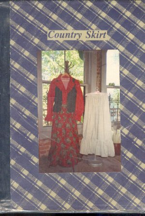 Sewing Pattern Country Skirt, One Size by Country House Quilts