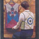 Sewing Pattern The Pattern Factory, Quilted Vest Rose and Star Tabard, Sizes 10 -16