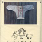 Sewing Pattern Loving Stitches, Kids Doll shirt, Sizes 3 - 12